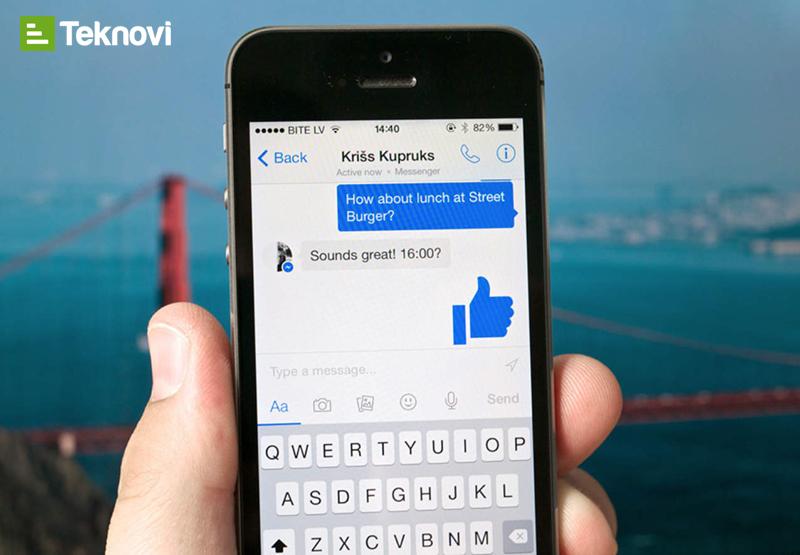 Facebook Messenger mesajlaşma uygulaması