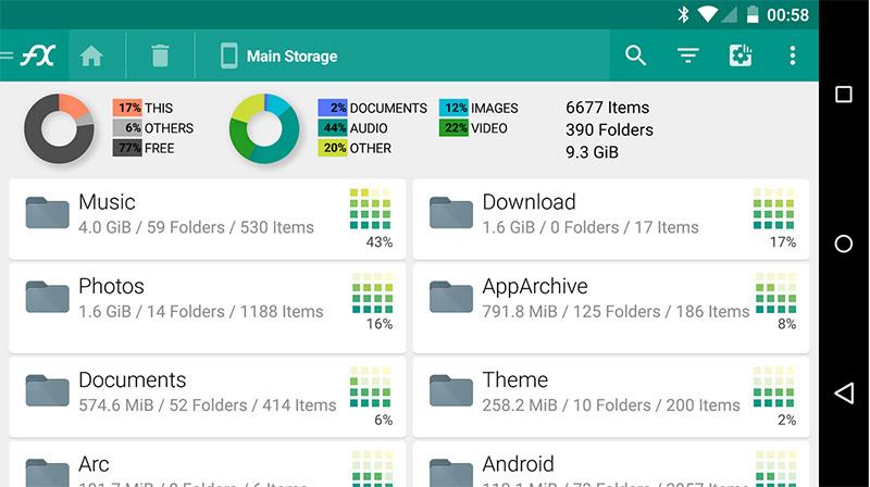 FX File Explorer Dosya Yöneticisi : Olması Gereken Uygulamalar