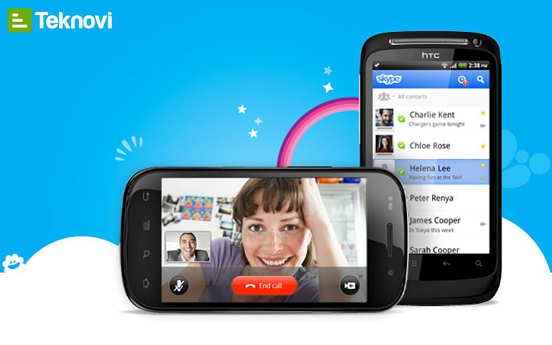 Skype mesajlaşma uygulaması