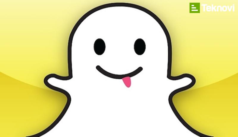 Snapchat mesajlasma uygulaması