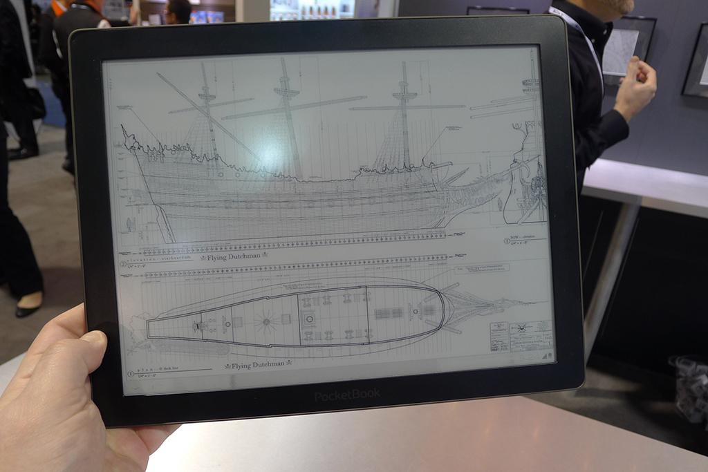 E-ink ekranlı tablet