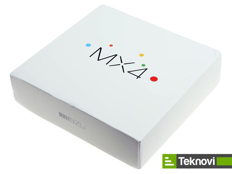 Meizu MX4 Fotoğrafları Kutu