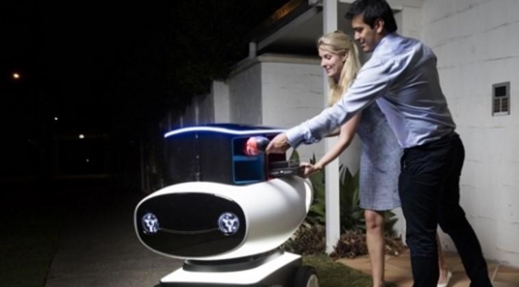 Dominos Pizza Teslimatları Robot ile YapacakDominos Pizza Teslimatları Robot ile Yapacak