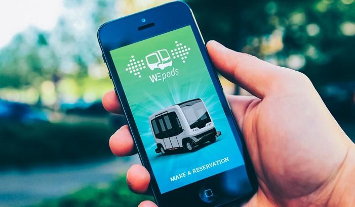 Hollanda'da Sürücüsüz Otobüsler Yollara Çıkıyor