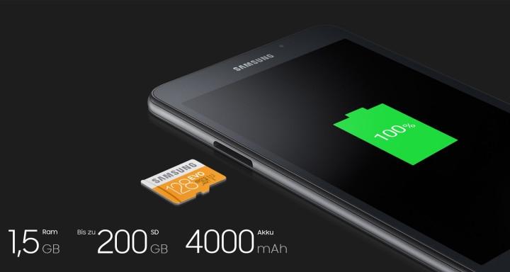 Yeni Samsung Galaxy Tab A Tablet Tanıtıldı