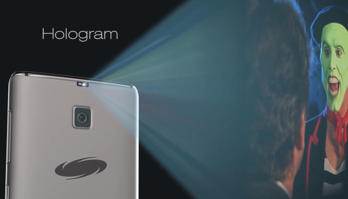 Galaxy S8 Edge konsept tasarımı hologram özelliğine yer vermiş.