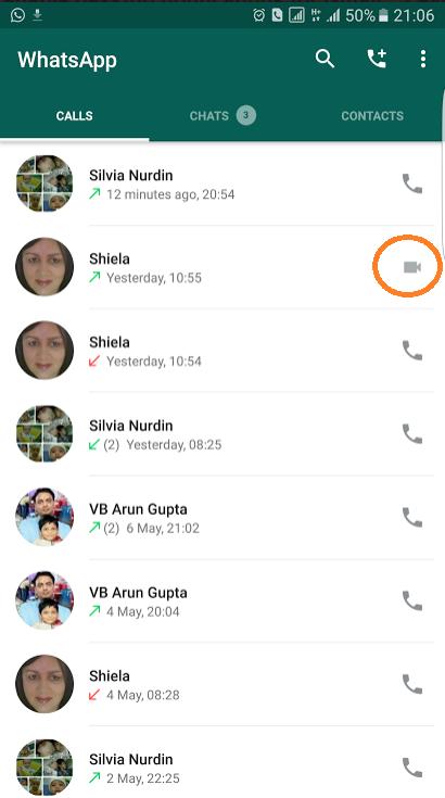 whatsapp görüntülü görüşme özelliği