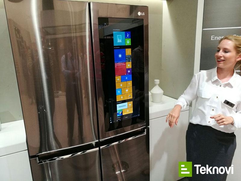 LG Akıllı Buzdolabı IFA 2016
