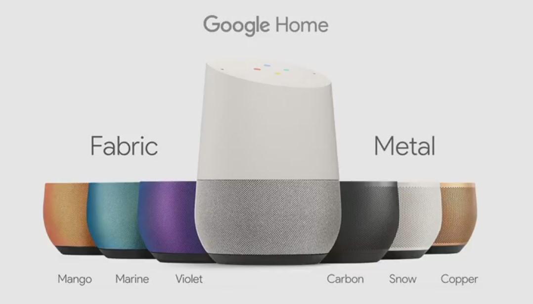 google-home-renkler